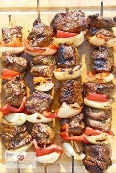 After trying these delicious and Easy Beef Kabobs, you'll never buy them from the grocery store.