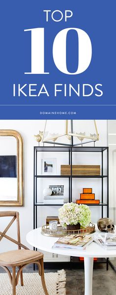 Give your home a refresh with these 16 IKEA hacks. Take on a DIY project and turn IKEA shelving and cabinets into chic décor. Home Living, Apartment Living, Living Rooms, Office Deco, Ikea Vittsjo, Ikea Bookcase, Ikea Shelves, Black Bookshelf, Black Shelves