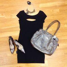 #cm #style #cmstyle #clothes #mentor #clothesmentorsarasotasouth #clothesmentor #purse #dress #heels #necklace  Total: $50.00 Purse: $11.75 Dress: $14.00 (m) Heels: $24.00 (10)