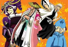 Bleach ~~ Captains Together, Partners Forever