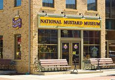 This place was so much fun--we saw it in Mt. Horab, Wisconsin but now they've moved to Middleton.  Love all the mustard!!!  Yummy.