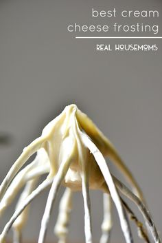 This truly is the Best Cream Cheese Frosting and perfect for all your spring cakes!