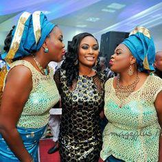 Nigerian wedding thanksgiving photos from Hadiza & Olamiju Akala black aso-oke in Ibadan 11 Wedding Terms, Wedding Styles, Thanksgiving Photos, Aso Ebi Styles, African Beauty, Different Styles, Fashion Beauty, Bridal, Lady
