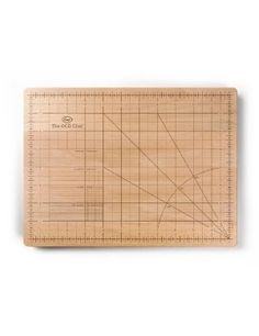 cutting board for the OCD chef