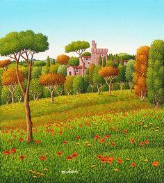 il Castello  by Cesare Marchesini of Italy