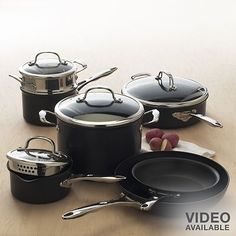 I could care less what brand they are but I would love an actual set of pots and pans!