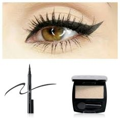WINGED & WEARABLE! Get this classic and timeless cat-eye with super thin felt-tip liquid liner pen and a single sweep of shimmery shadow.  http://www.youravon.com/lorihoward  #makeup #bath #skincare #fragrance #shop #online #savings #hotdeals #makeup