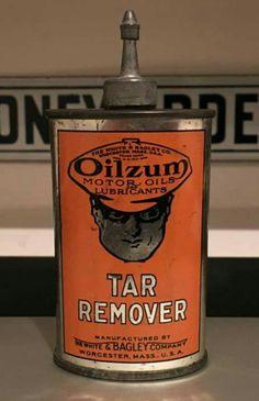 Early Original Oilzum Tar Remover Handy Oiler
