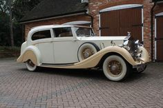 This is just a really cool car.    1936 Rolls Royce Phanton III by Gurney Nutting. Ordered new by the Marquess of Queensbury on the 23rd November 1936 as a long-chassis type Phantom III, then sent to Gurney Nutting for the fitment of the Art Deco style Sedanca de Ville body