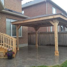 Pergola With Roof Plans Code: 9655701104