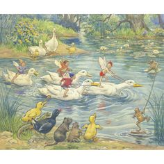 Water Sports by Margaret Tarrant