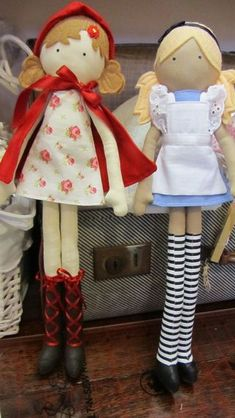 Alice in Wonderland and Little Red