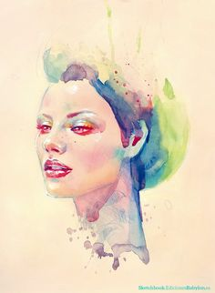 Marta Nael watercolor