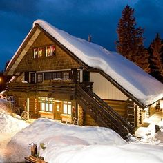 Lone Mountain Ranch, Big Sky, MT: With 50-plus miles of trails, it has some of the best cross-country skiing in the States. Nearby downhill runs are tops, too.