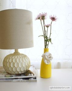 Create this easy Anthropologie inspired Vase just in time for Spring!