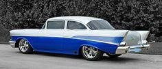 Custom '57 Chevy 150  (unique paint scheme)