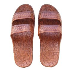 d2e51302e Get your Jesus Sandals aka Classic Brown Pali Hawaii Sandals   oFlop.com!