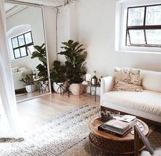 Such a beautiful living room setup !// Shop 100% Bamboo Eco-friendly Bedding & Apparel xx