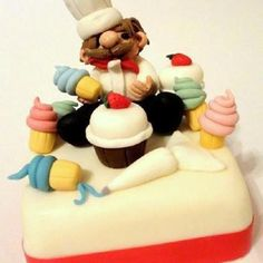 Pastry Chef Cake hahaha this is so cute