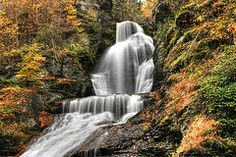 - Dingmans Falls 2  - Dingmans Ferry P A  by Allen Beatty