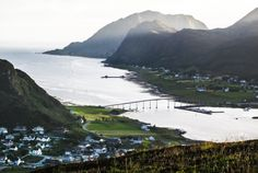 around Fosnavag, high view, Norway Norway, Mountains, Places, Water, Travel, Outdoor, Gripe Water, Outdoors, Viajes