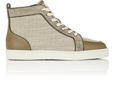CHRISTIAN LOUBOUTIN Rantus Orlato Flat Sneakers. #christianlouboutin #shoes #all