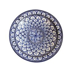 Check out these amazing Moroccan Safi plates at Mix Furniture! Hand painted Moroccan Safi plate or bowl with traditional blue and white design. Moroccan Plates, Moroccan Blue, Moroccan Design, Blue Pottery, Pottery Plates, Pottery Painting Designs, Paint Designs, Ethnic Decor, Marquesan Tattoos