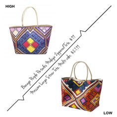 The Summer Tote {High / Low}