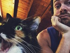 Dan Feuerriegel  - Hey Dan, what's it called when a cat wins a dog show? A-CAT-HAS-TROPHY! Obviously Amira found her joke hiss-terical