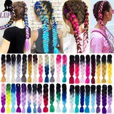 Brand Name: LUPUMaterial Grade: High Temperature FiberTexture: Jumbo BraidsItems per Package: Be Permed: Yes Jumbo Braids, Twist Braids, Blond, Kanekalon Braiding Hair, Braid In Hair Extensions, Hair Strand, Ombre Color, Box Braids Hairstyles, Crochet Hair Styles