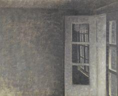 Vilhelm Hammershøi - The Balcony Room at Spurveskjul, 1911