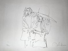 Exchange of Rings, HS from Bag One Suite 1969 by John Lennon