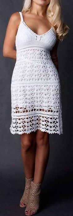 Melanya Crochet Dress