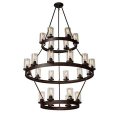 Found it at Wayfair - Florine 24-Light Candle-Style Chandelier