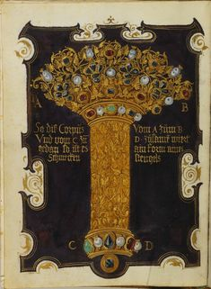 Jewel Book of the Duchess Anna of Bavaria - World Digital Library/ Книга сокровищ герцогини Анны Баварской.