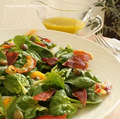 Fresh baby spinach and bacon salad http://weightloss-x4gf8thn.myreputablereviews.com