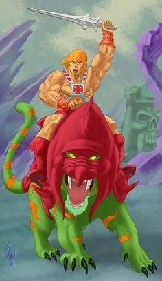 He Man by vanmorrisman on DeviantArt 80s Cartoon Shows, She Ra Princess Of Power, Comic Movies, Book Art, Universe, Animation, Deviantart, Fantasy, Superhero