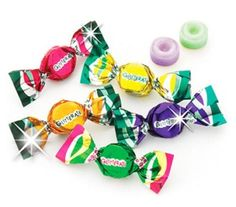 Traditional Glitterati Fruit & Berry Mini Hard Candy from Italy Italian Pear Gourmet Candies, ,