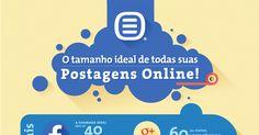 [Infográfico] O Tamanho Ideal para todas as suas Postagens Online