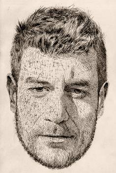 Ivan Off by Jose Manuel Hortelano-Pi, via Behance Art Techniques, Illustrators, Art Drawings, My Arts, Deviantart, Painting, Inspiration, Behance, Faces