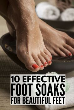 If you suffer from dry, cracked heels, this collection of DIY exfoliating foot scrubs and soaks is for you. We've rounded up 10 fabulous homemade recipes that use natural ingredients you probably already have at home - listerine, peppermint, epsom salt, coconut oil, coffee, sugar, etc. - that are not only relaxing, but that will effortlessly slough off dead skin, leaving you with gorgeous feet year-round!
