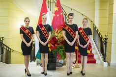 Bank of China RNB Clearing Center Opening Ceremony - Budapest 2015 Opening Ceremony, Budapest, This Is Us, China, Models, Dresses, Design, Fashion, Templates