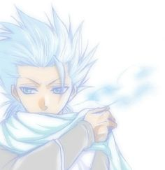 Toshiro Hitsugaya // I am slowly falling in love with this midget again. Well, not like I ever stopped.
