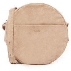 BAGGU Circle Cross Body Bag (€145) ❤ liked on Polyvore featuring bags, handbags, shoulder bags, purses, dune, leather handbags, crossbody purses, man leather shoulder bag, leather shoulder handbags and leather shoulder bag