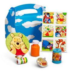 Hallmark 224281 Disney Pooh and Pals Party Favor Box #Disney