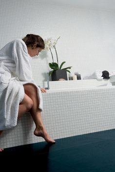 Kurk en vloerverwarming: temperatuur is alles #kurk #vloerverwarming #badkamer