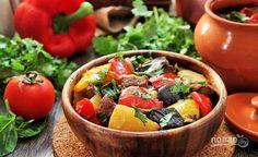 Готовьте чанахи в духовке в течение 1,5 часов при 180 градусах. Приятного аппетита!