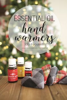 Handmade Holiday: DIY Hand Warmers with Essential Oils from One Project Closer
