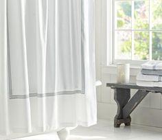 10 Best Industrial-Chic Bath Accessories: Hotel-Style Shower Curtain