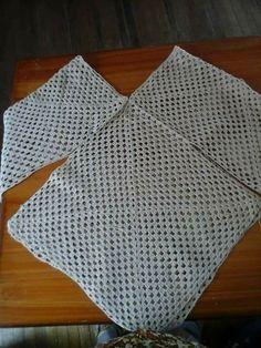 New crochet granny square sweater pattern cardigans 35 ideas Black Crochet Dress, Crochet Cardigan, Crochet Shawl, Crochet Granny, Knit Crochet, Crochet Baby, Baby Knitting Patterns, Crochet Patterns, Poncho Patterns